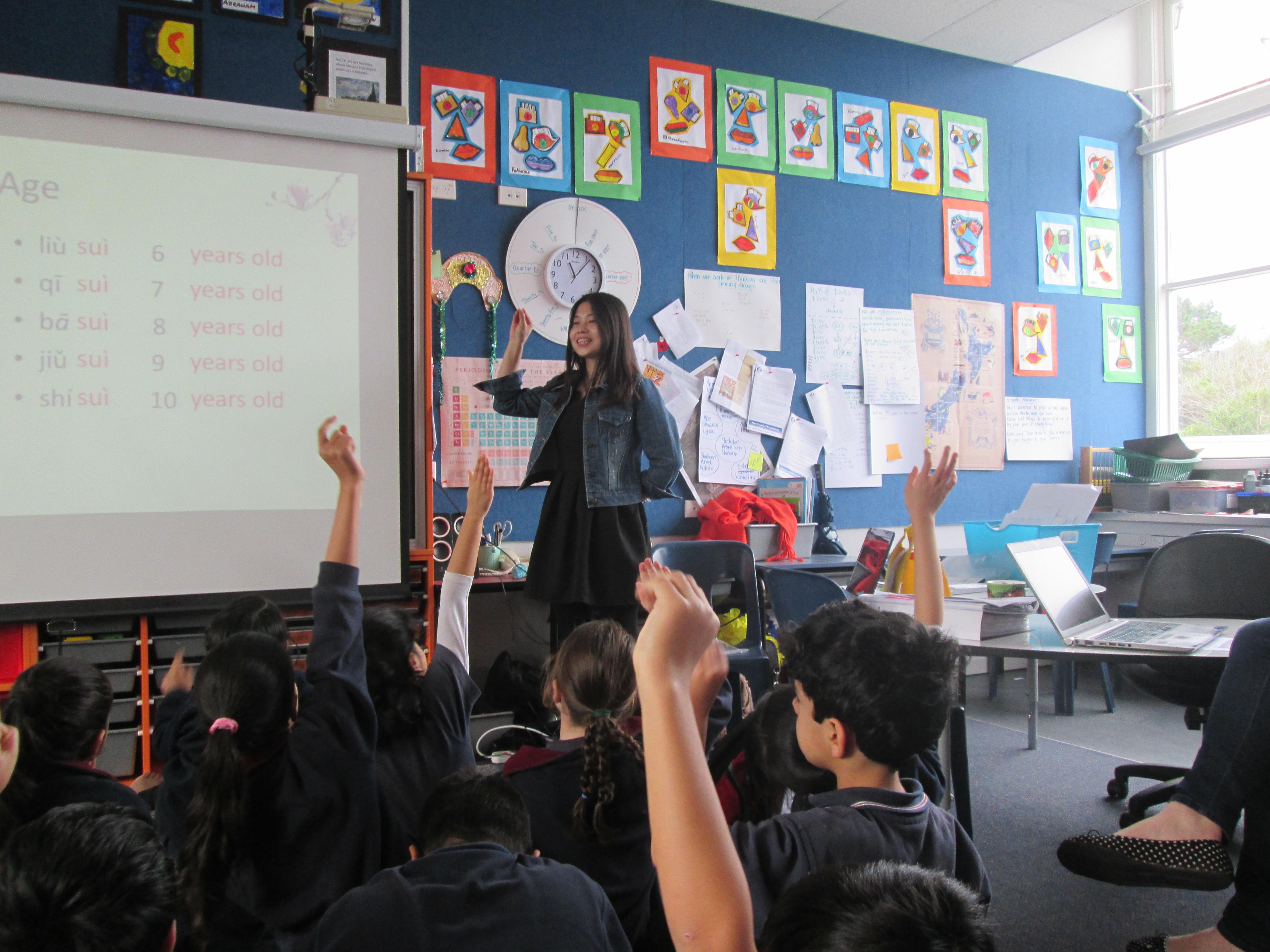 Blockhouse Bay Primary School - Mandarin lessons