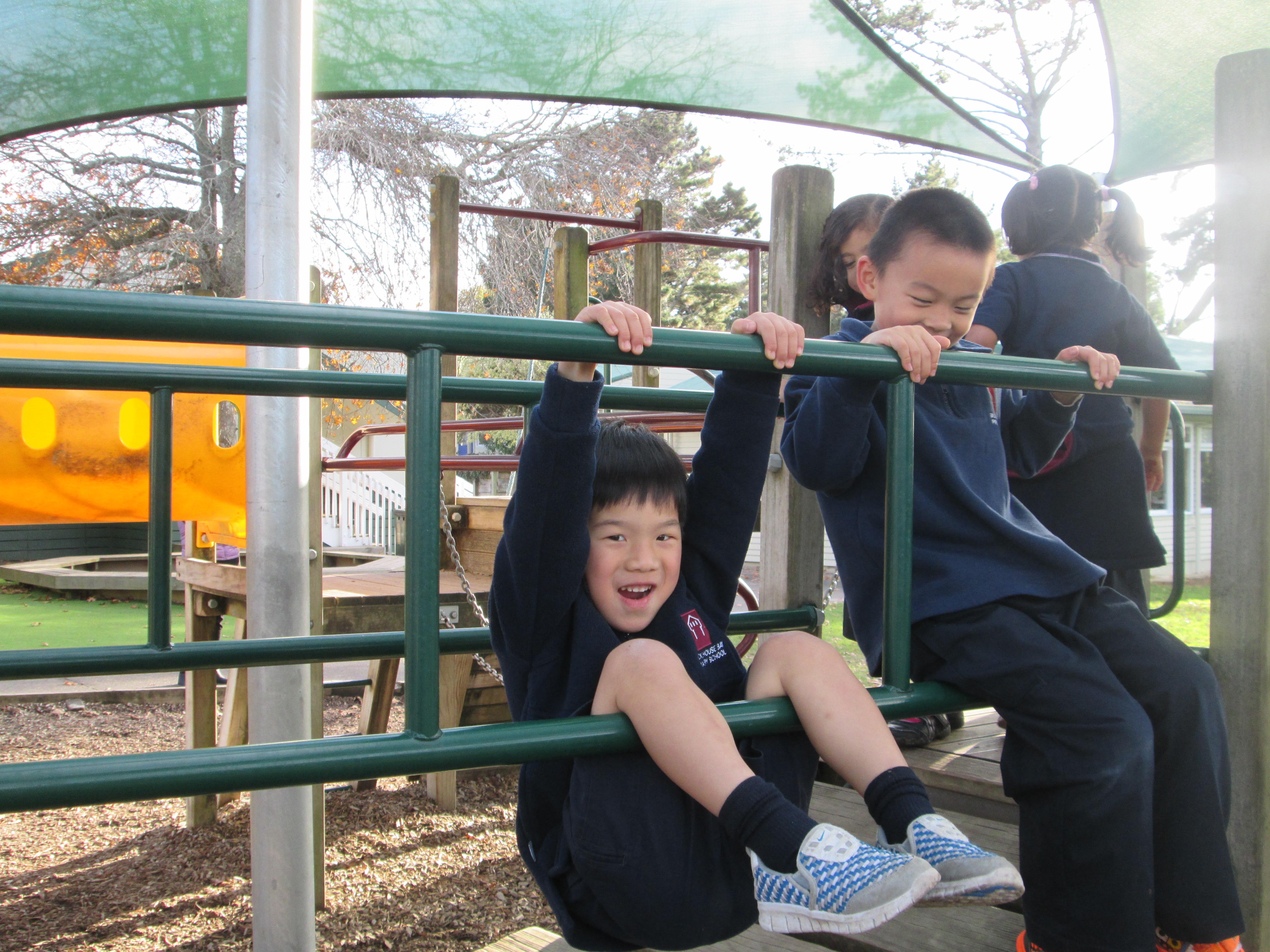 Blockhouse Bay Primary School - Playground fun