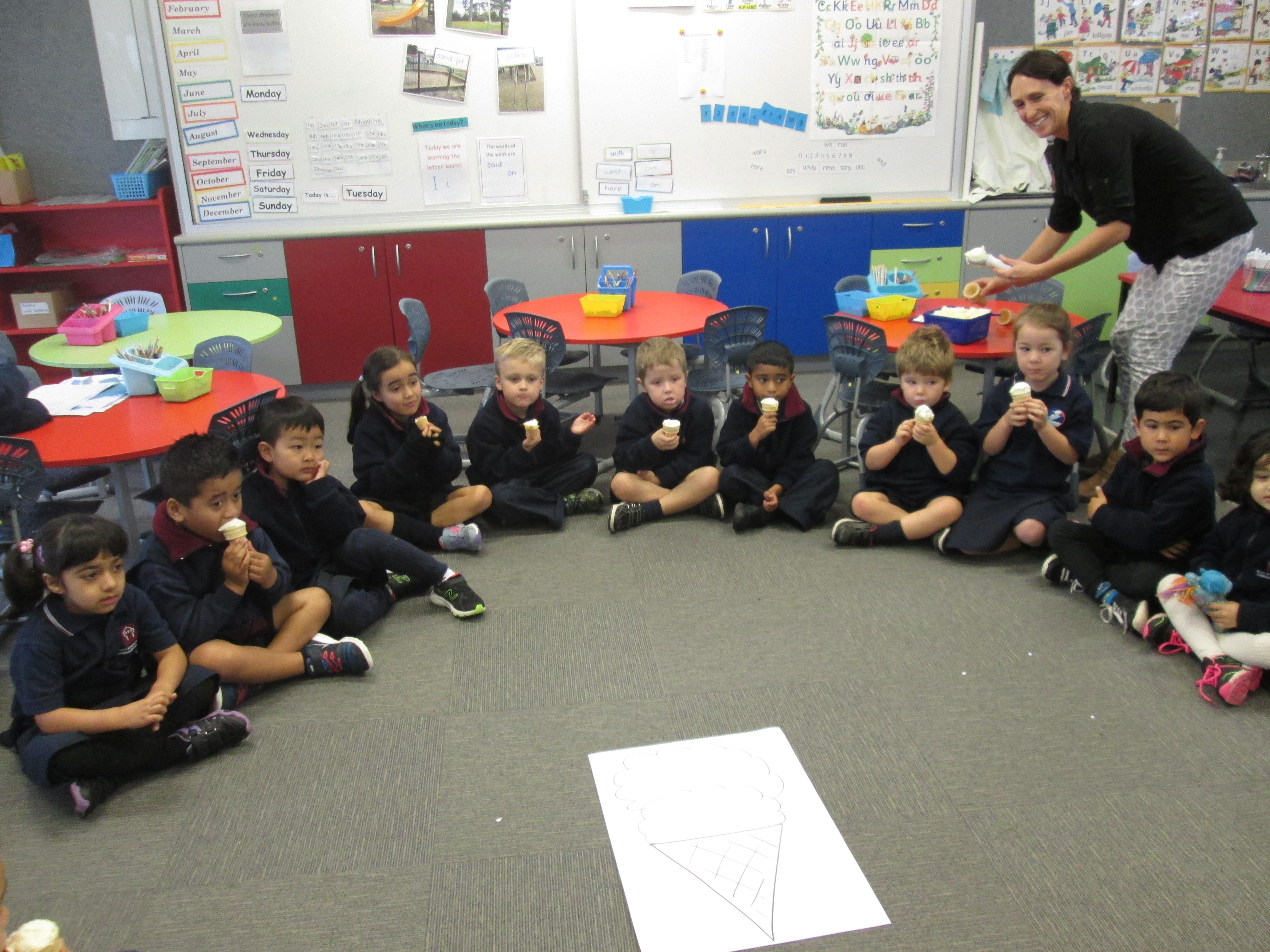 Blockhouse Bay Primary School - Classroom fun!