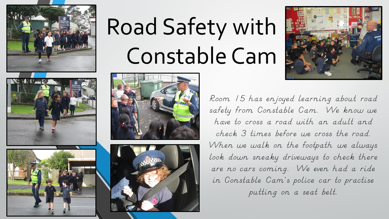Blockhouse Bay Primary School - Constable Cam visits room 15