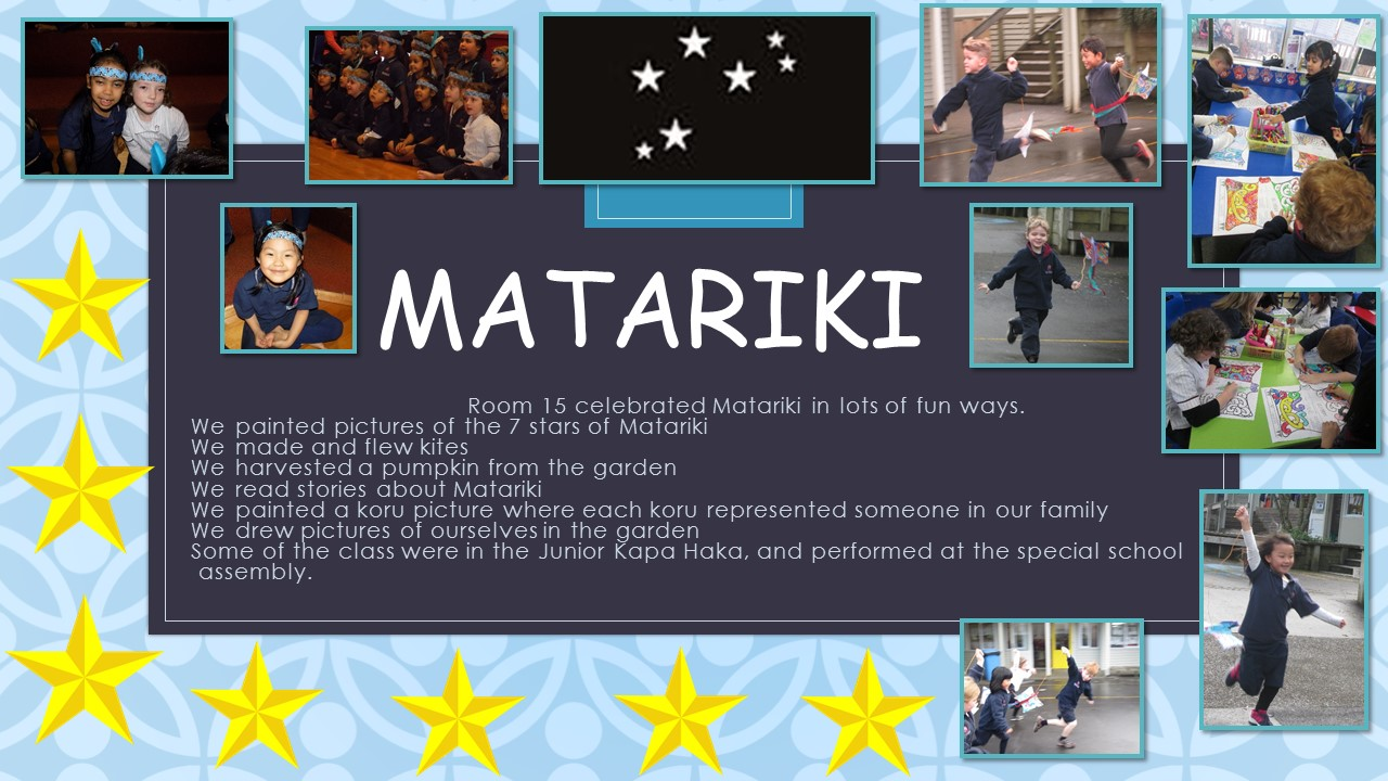 Blockhouse Bay Primary School - Matariki