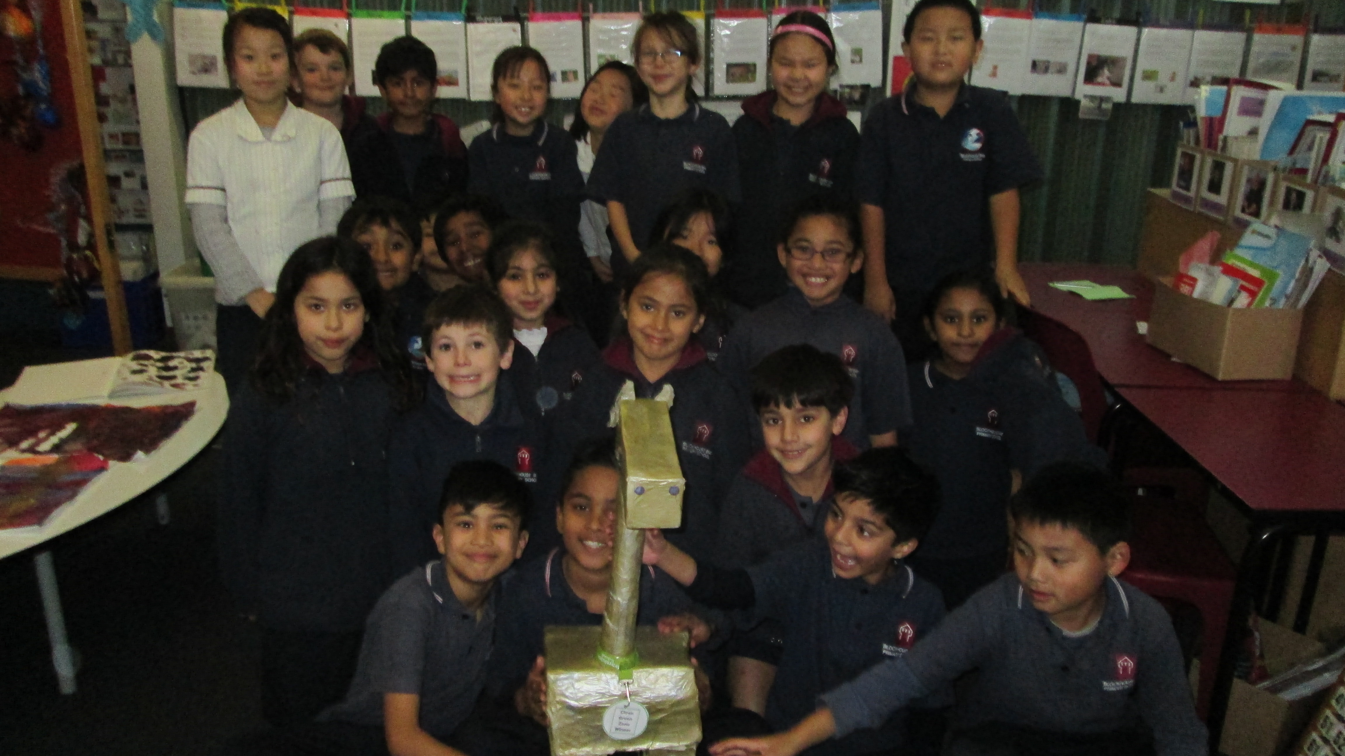 Blockhouse Bay Primary School - Clean Green Winners!!