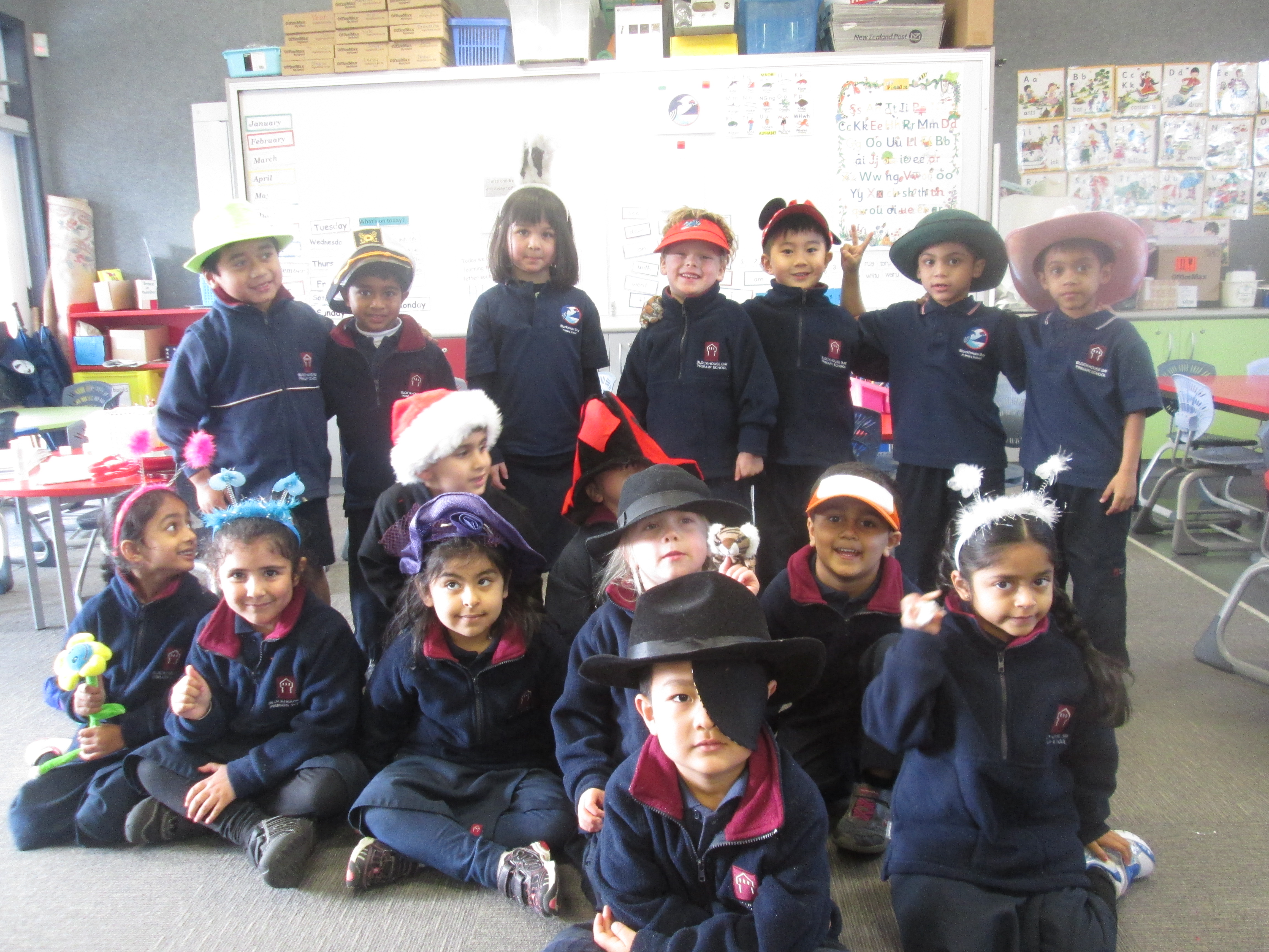 Blockhouse Bay Primary School - Hats hats hats!