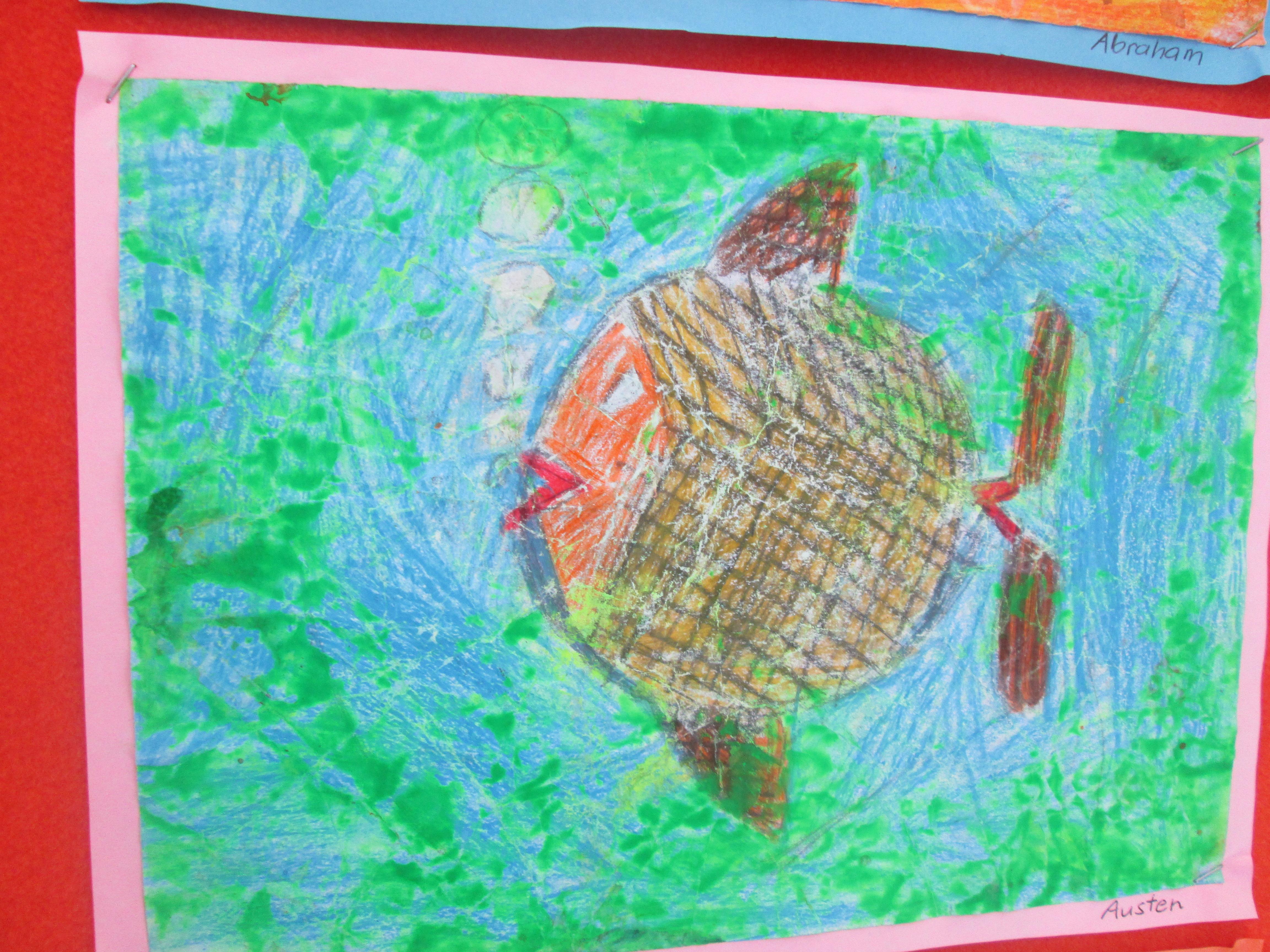 Blockhouse Bay Primary School - Fish Art