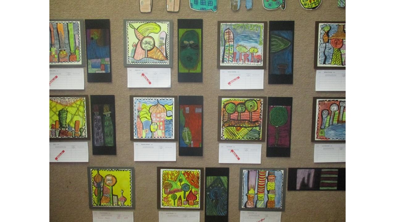 Blockhouse Bay Primary School - Room Three's Art