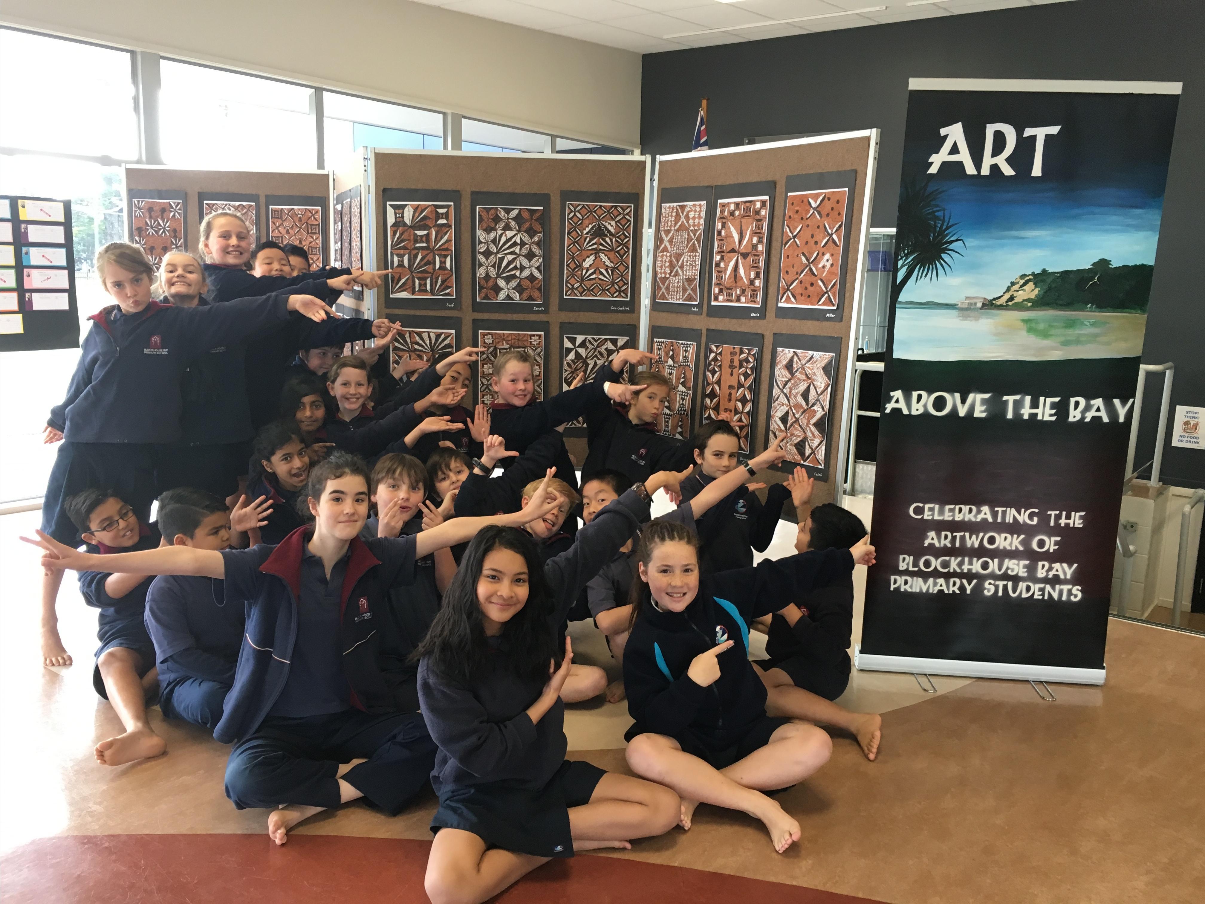 Blockhouse Bay Primary School - Art Show
