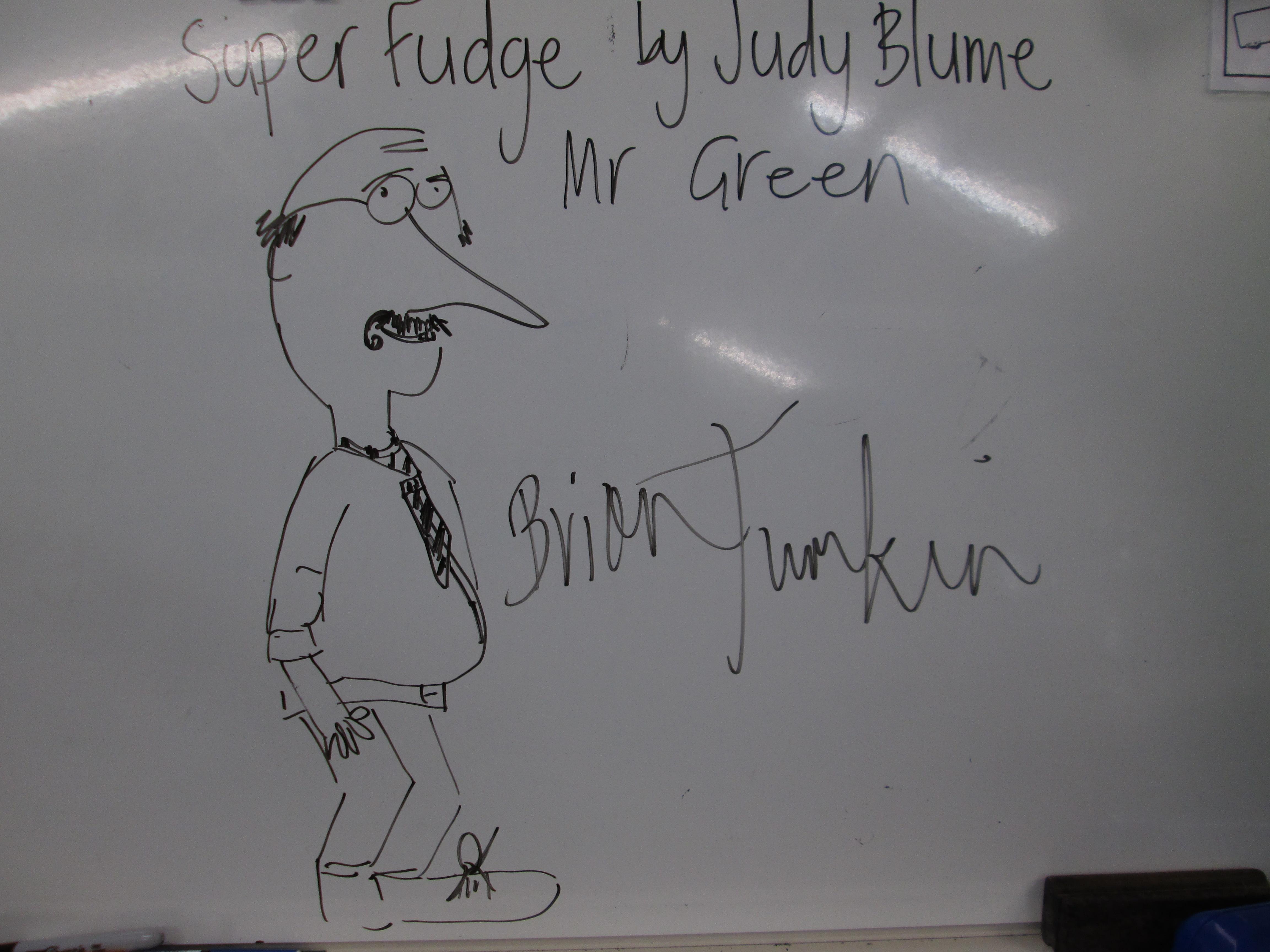 Blockhouse Bay Primary School - Mr Green Drawings