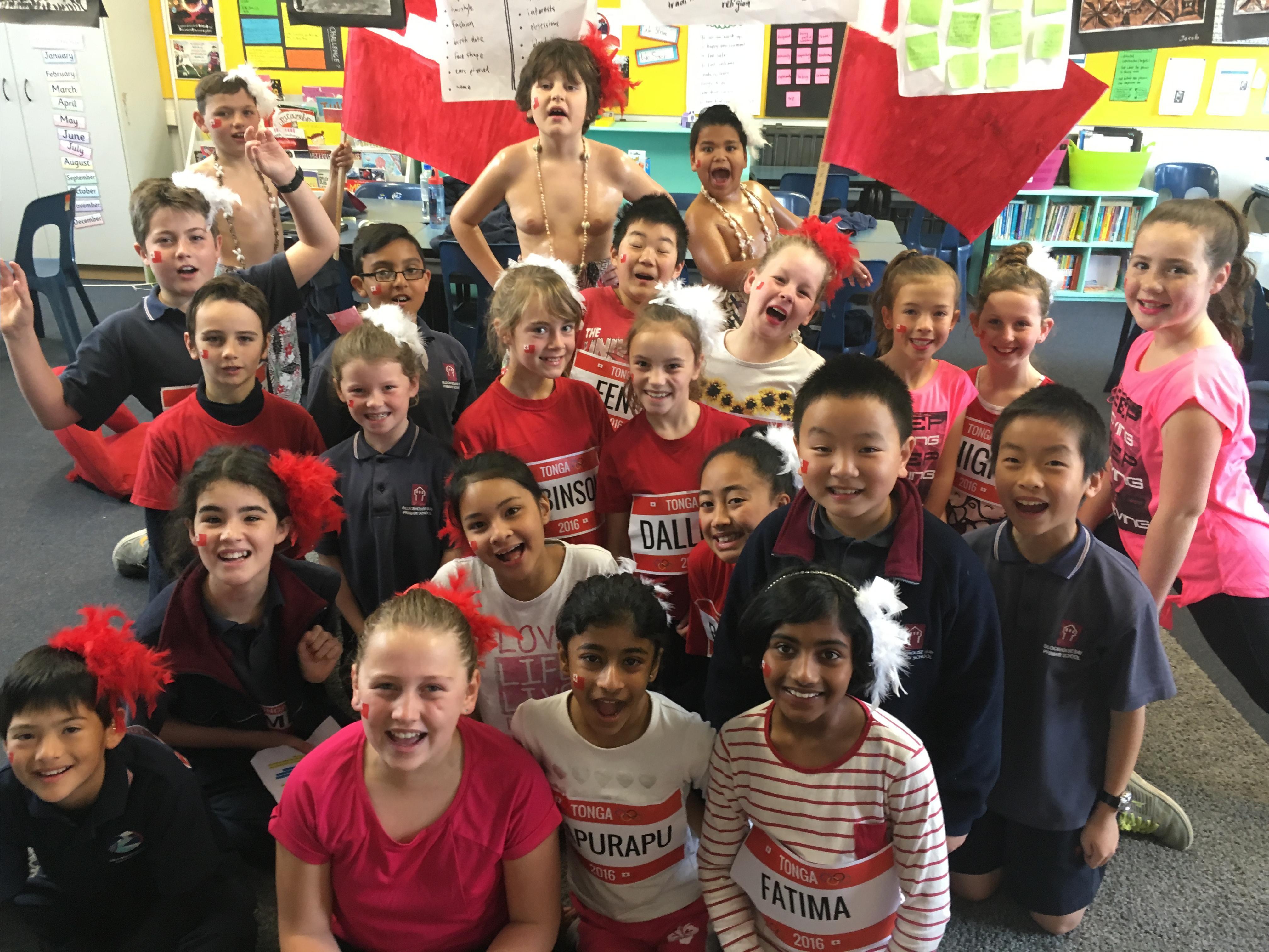 Blockhouse Bay Primary School - Kauri Olympics Challenge