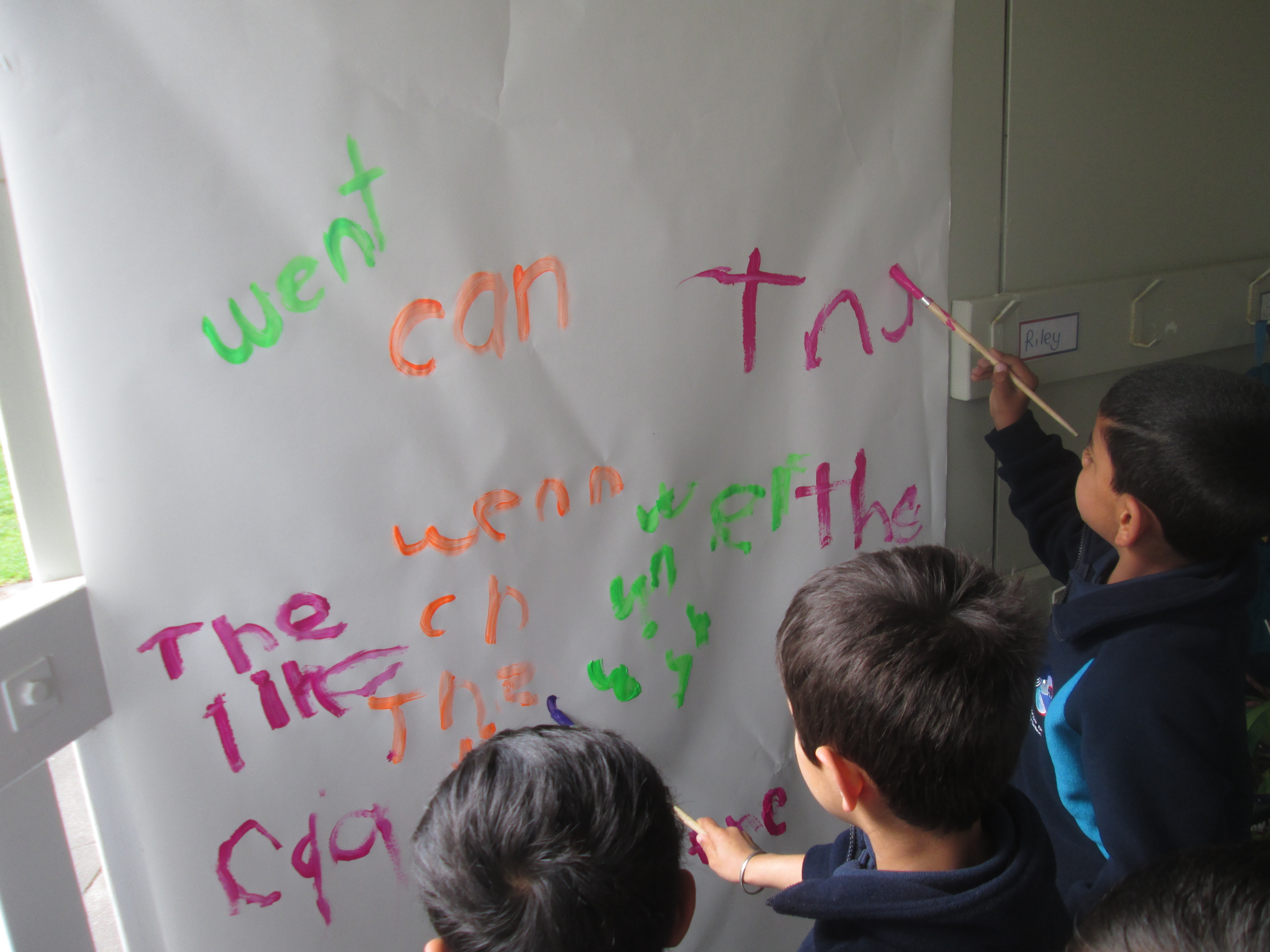 Blockhouse Bay Primary School - letters, words, sentences