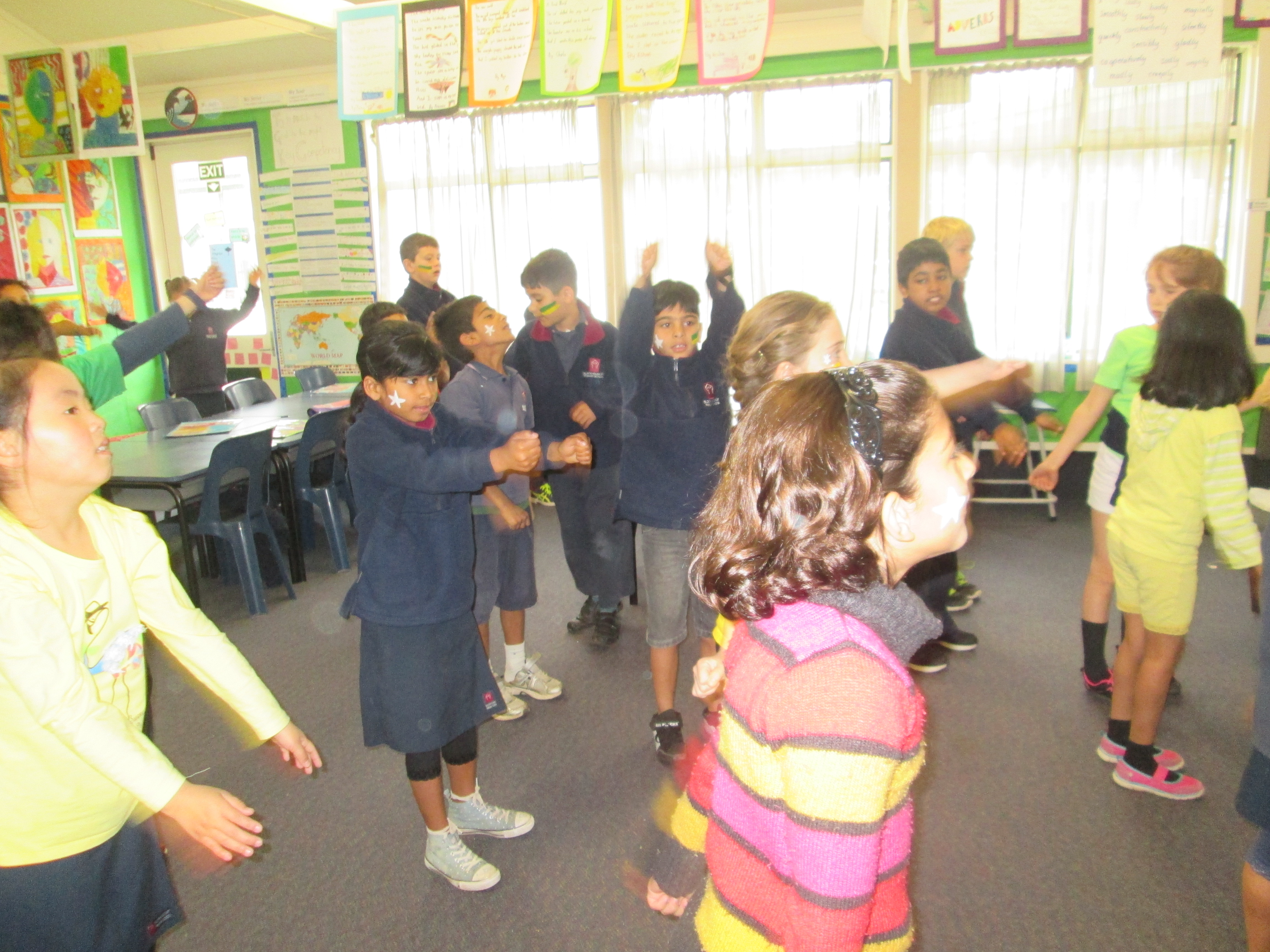 Blockhouse Bay Primary School - Rainy Day Fitness