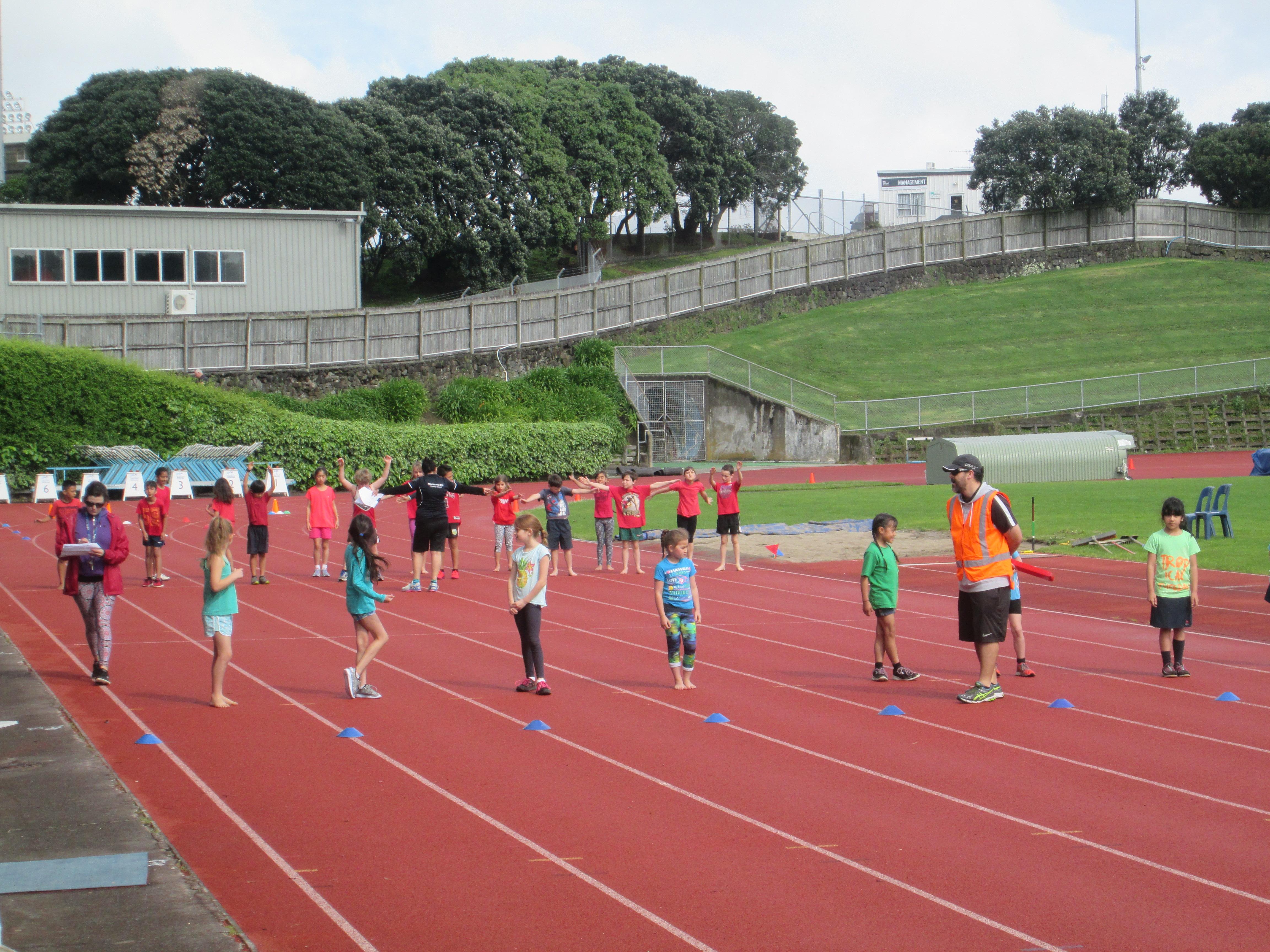 Blockhouse Bay Primary School - Athletics Day