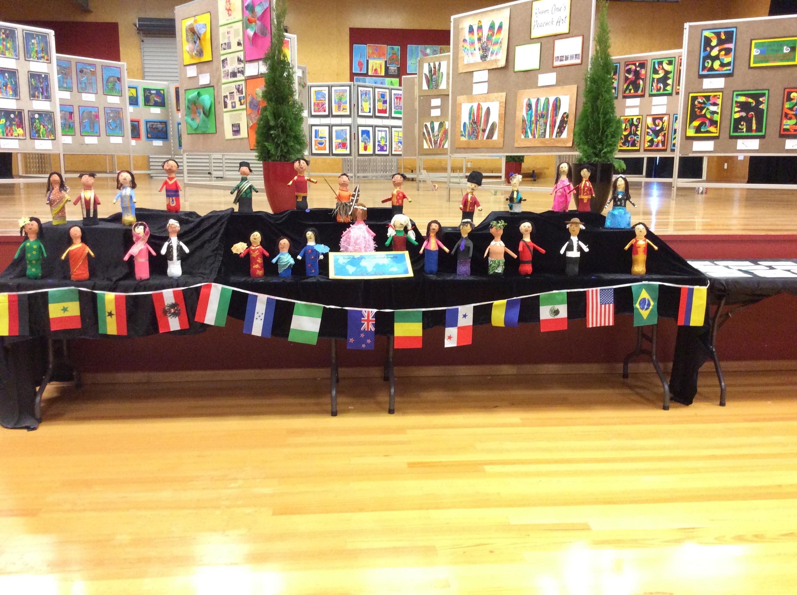 Blockhouse Bay Primary School - Cultural Dolls