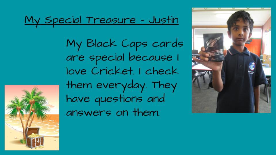 Blockhouse Bay Primary School - Our Special Treasure