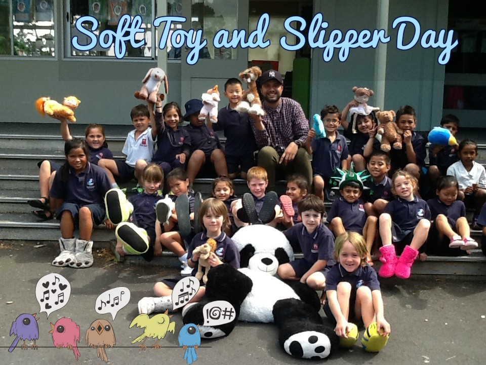 Blockhouse Bay Primary School - Soft Toy and Slipper Day