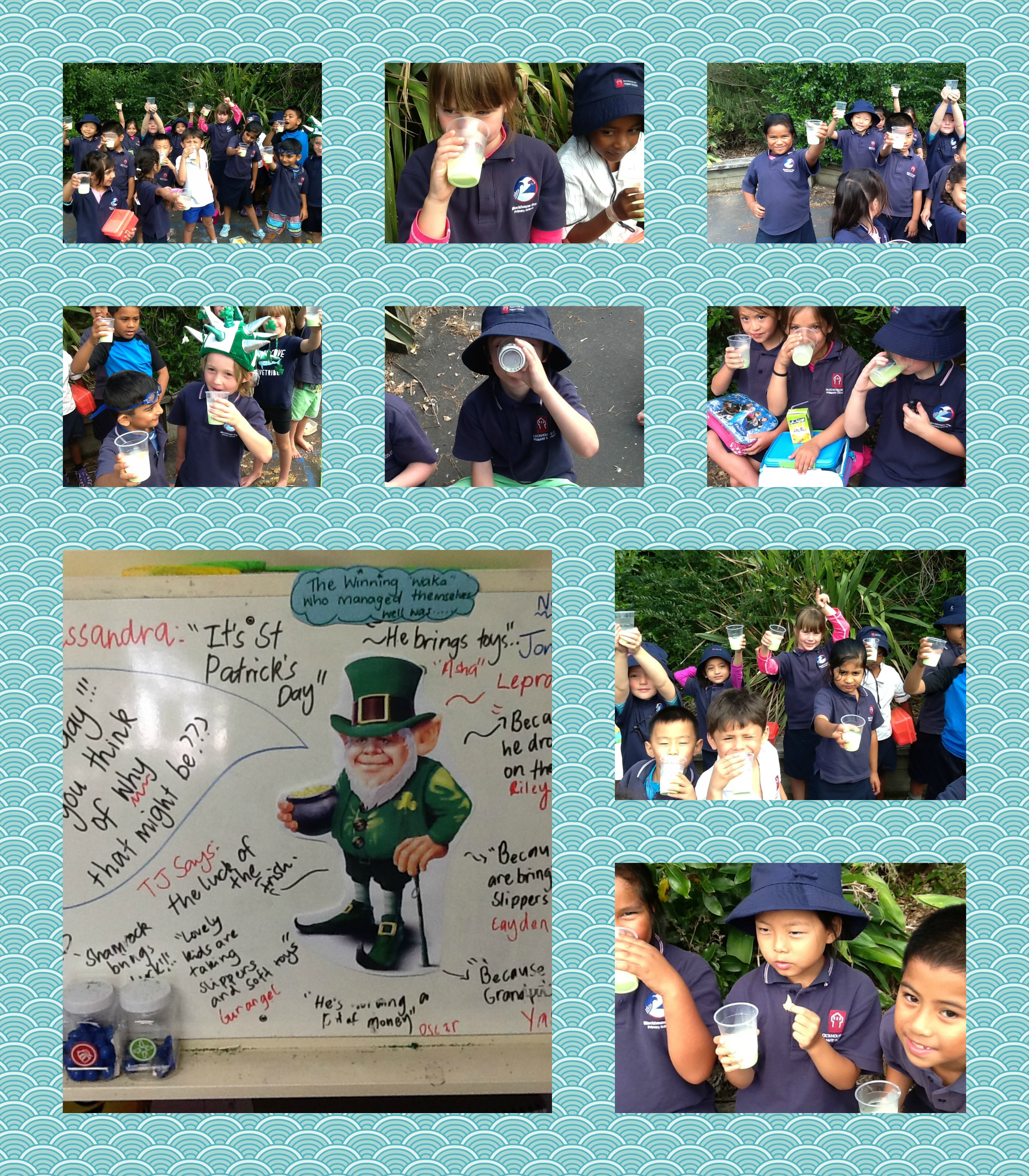 Blockhouse Bay Primary School - Luck of the Irish