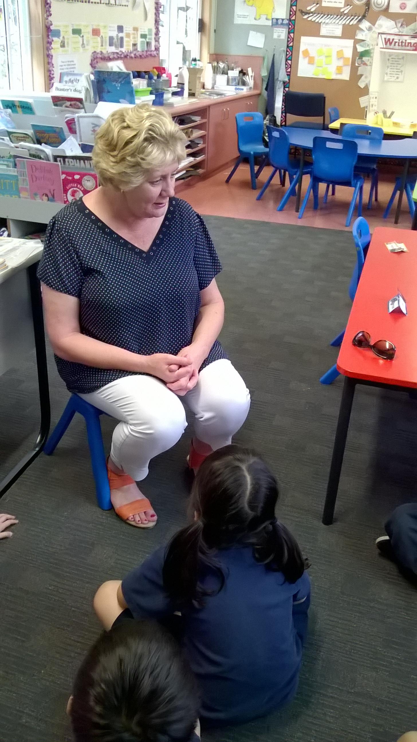 Blockhouse Bay Primary School - Our School Community: Mrs Barrett