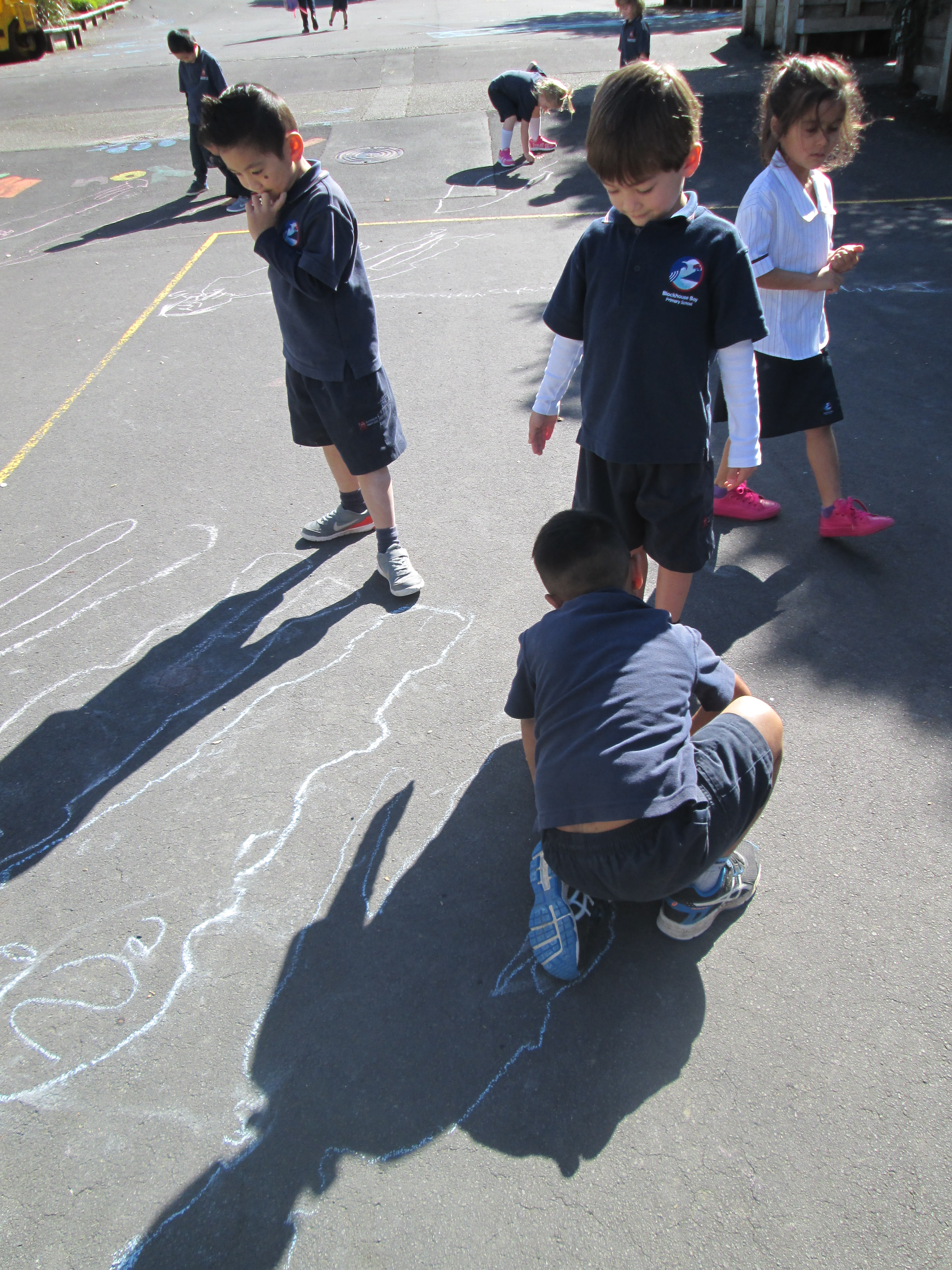 Blockhouse Bay Primary School - What are shadows?